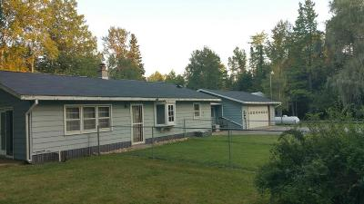 Single Family Home For Sale: N10380 Cty Rd Rr