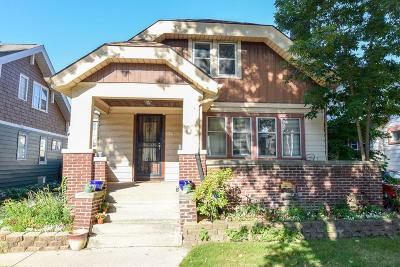 Milwaukee WI Single Family Home Active Contingent With Offer: $160,000