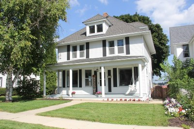 West Bend Single Family Home For Sale: 125 N 8th Ave