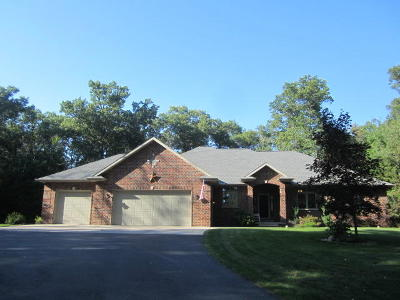 Single Family Home For Sale: N3180 Deer Haven Ct