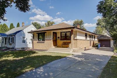 West Allis Single Family Home For Sale: 1118 S 90th St