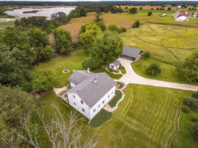 Eagle Single Family Home Active Contingent With Offer: S69w39784 County Road N