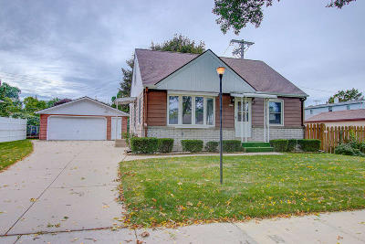West Allis Single Family Home Active Contingent With Offer: 2815 S 104th St