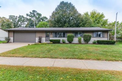 Waukesha WI Single Family Home Active Contingent With Offer: $217,500