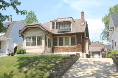 Single Family Home For Sale: 6018 W Wisconsin Ave