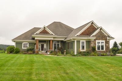 Mukwonago Single Family Home For Sale: S84w33185 Brown Bear Lane