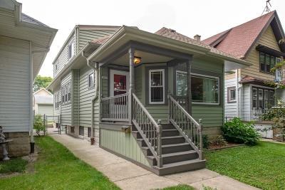 Milwaukee Single Family Home Active Contingent With Offer: 3027 S Nevada St