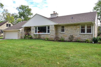 Single Family Home For Sale: 3226 Menomonee River Pkwy