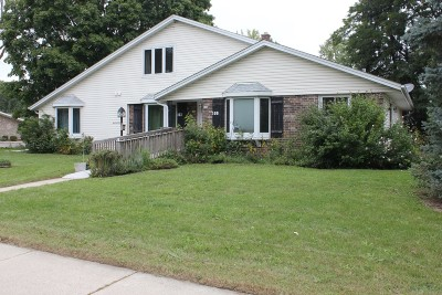West Bend Single Family Home Active Contingent With Offer: 100 W Paradise Dr #102