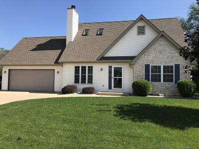 Racine Single Family Home Active Contingent With Offer: 4619 Kenrich Dr