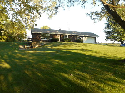 Kewaskum Single Family Home For Sale: 8828 Forest View Rd
