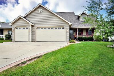 West Bend Single Family Home Active Contingent With Offer: 532 Sand Dr