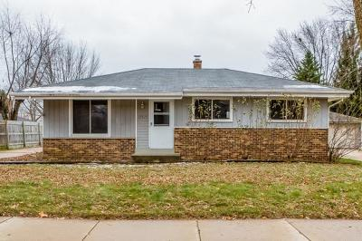 Milwaukee Single Family Home For Sale: 10321 W Dean Rd