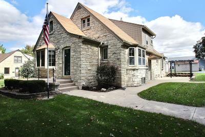 Milwaukee Single Family Home Active Contingent With Offer: 3234 S 84th St