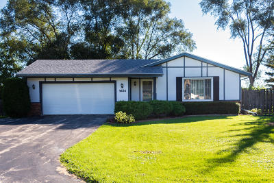 Greenfield Single Family Home Active Contingent With Offer: 4638 S 109th St
