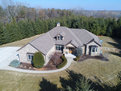 Single Family Home For Sale: N80w23160 Plainview Rd