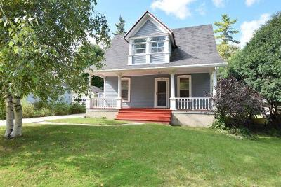 Fort Atkinson WI Single Family Home Active Contingent With Offer: $155,000