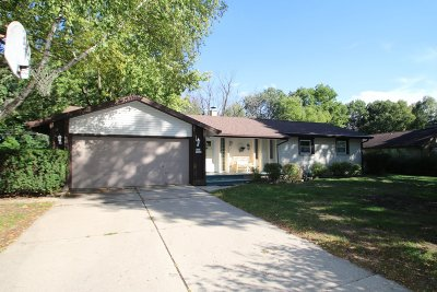 Germantown Single Family Home Active Contingent With Offer: W153n11640 Kurt Dr