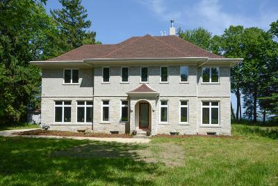 Ozaukee County Single Family Home For Sale: 598 Lake Shore Rd