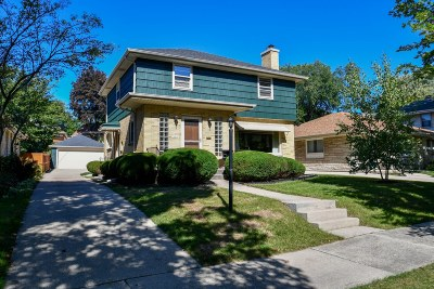 Single Family Home Active Contingent With Offer: 10616 W Grantosa Dr