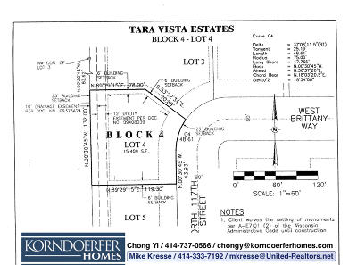 Residential Lots & Land For Sale: 8667 N 117th St