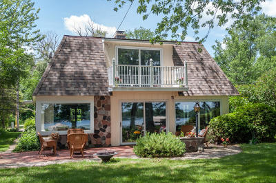 Hartland Single Family Home Active Contingent With Offer: W322n7516 Reddelien Rd