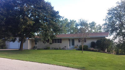 Jefferson County Single Family Home Active Contingent With Offer: N8388 Swansea Dr