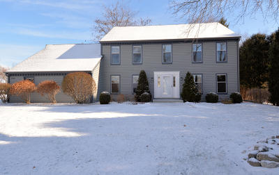 Mequon Single Family Home Active Contingent With Offer: 3500 W Marseilles Dr