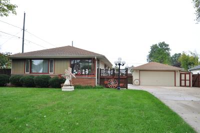 Milwaukee Single Family Home For Sale: 2606 W Mangold Ave