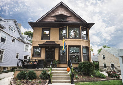 Milwaukee Two Family Home Active Contingent With Offer: 2822 N Shepard Ave #2824