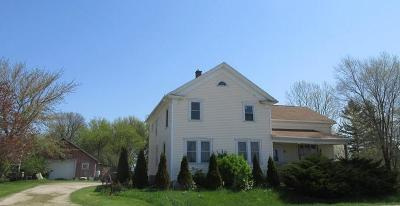 Sheboygan Single Family Home For Sale: N7839 State Road 42