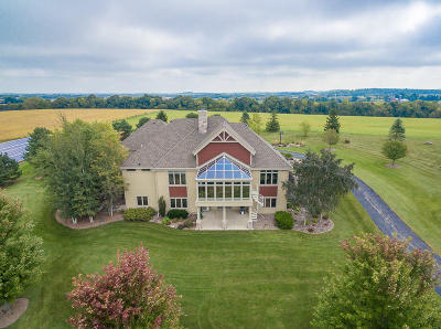 Mayville Single Family Home For Sale: W2628 County Road Y