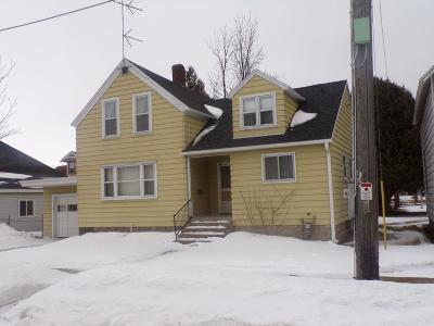 Menominee Single Family Home For Sale: 1005 18th
