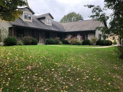 Hartford Single Family Home Active Contingent With Offer: W577 County Road O