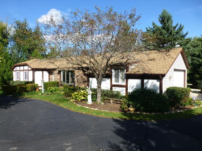Waukesha Single Family Home Active Contingent With Offer: W260s7310 Vista Del Tierra
