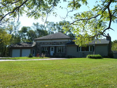 Eagle Single Family Home Active Contingent With Offer: S70w39875 County Road N