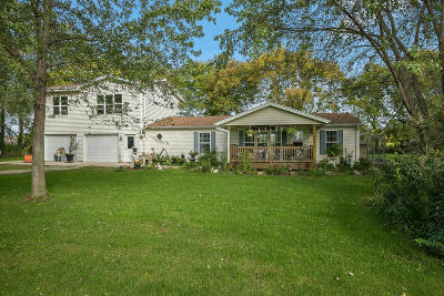 Racine County Single Family Home For Sale: 13410 4 Mile Rd