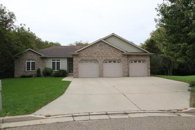 Racine County Single Family Home Active Contingent With Offer: 1249 Peregrine Ct