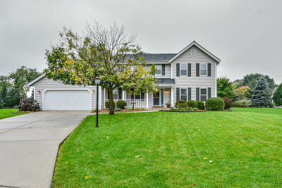 Sussex Single Family Home Active Contingent With Offer: W247n5929 Grouse Ct