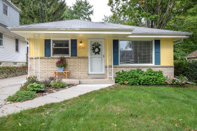 Single Family Home Active Contingent With Offer: 2633 N 115th St