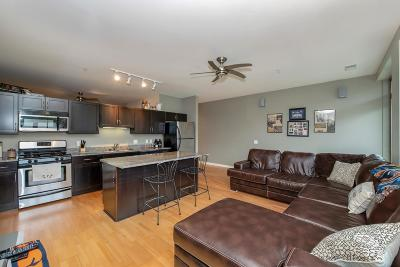 Milwaukee Condo/Townhouse Active Contingent With Offer: 1902 N Commerce St #406