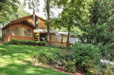 Waukesha Single Family Home Active Contingent With Offer: S33w28460 Wern Way