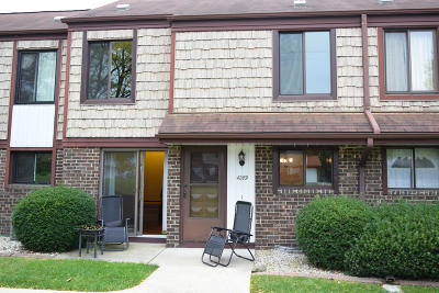 Milwaukee Condo/Townhouse Active Contingent With Offer: 4289 W College Ave