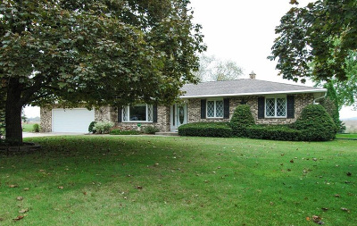 Mayville Single Family Home For Sale: N8732 N German Rd