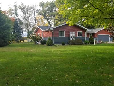 Marinette County Single Family Home For Sale: N3379 Right Of Way Rd