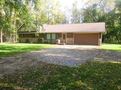 Sheboygan Single Family Home For Sale: 4425 Lakeshore Rd