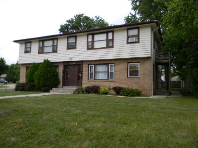 Milwaukee County Multi Family Home Active Contingent With Offer: 6930 W Euclid Ave