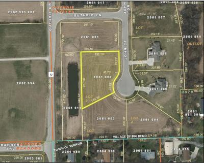 Big Bend Residential Lots & Land For Sale: W224s7455 John Ct #Lt2