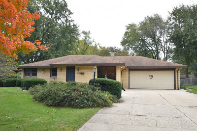 Waukesha County Single Family Home For Sale: 13101 W Fairmount Ave