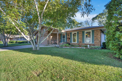 Greendale Single Family Home Active Contingent With Offer: 4965 Sussex Ln